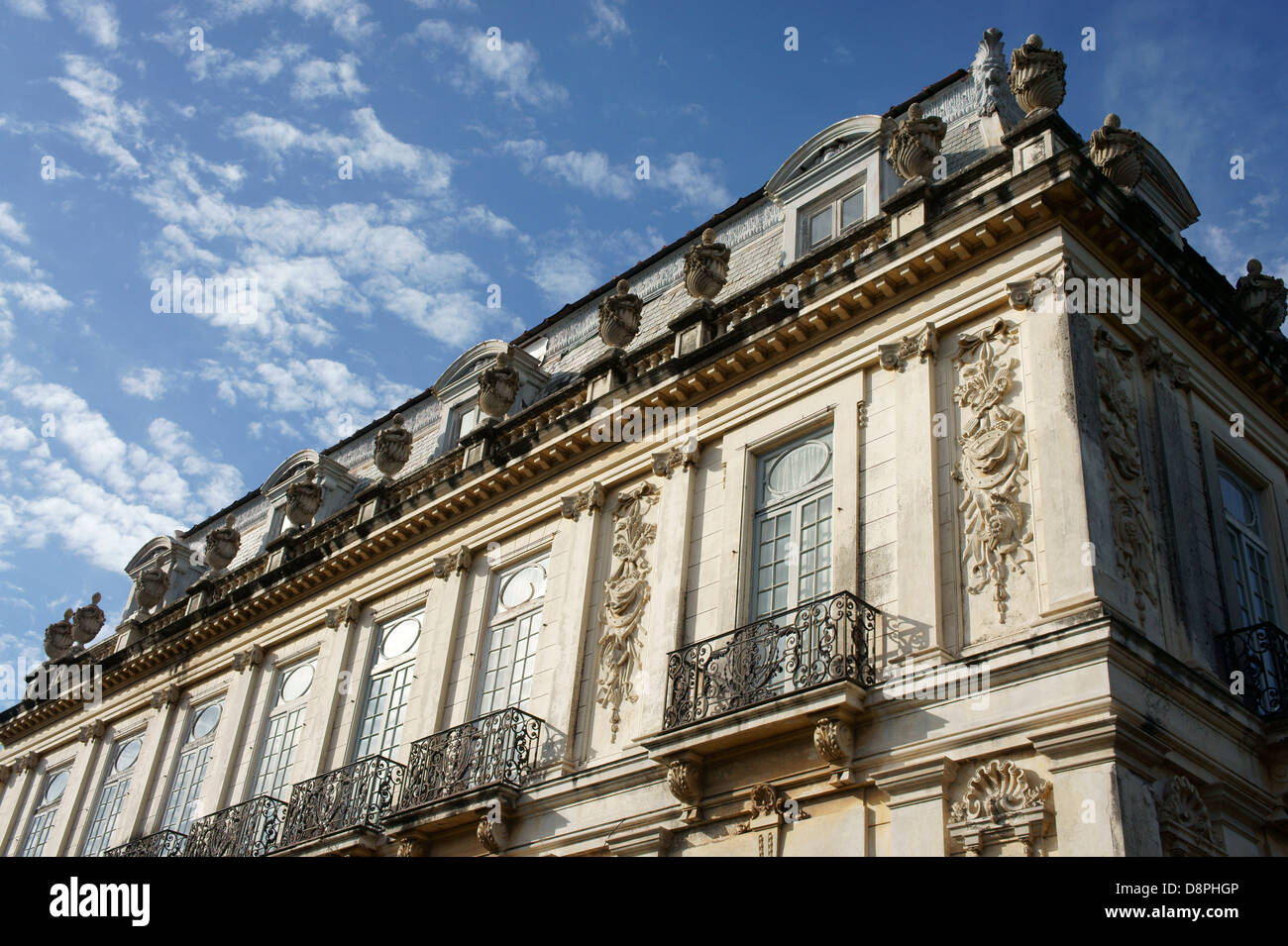 One of the Casa de Gemelas or Twins Houses, French Renaissance style mansions on Paseo de Montejo in Merida, Yucatan, - Stock Image