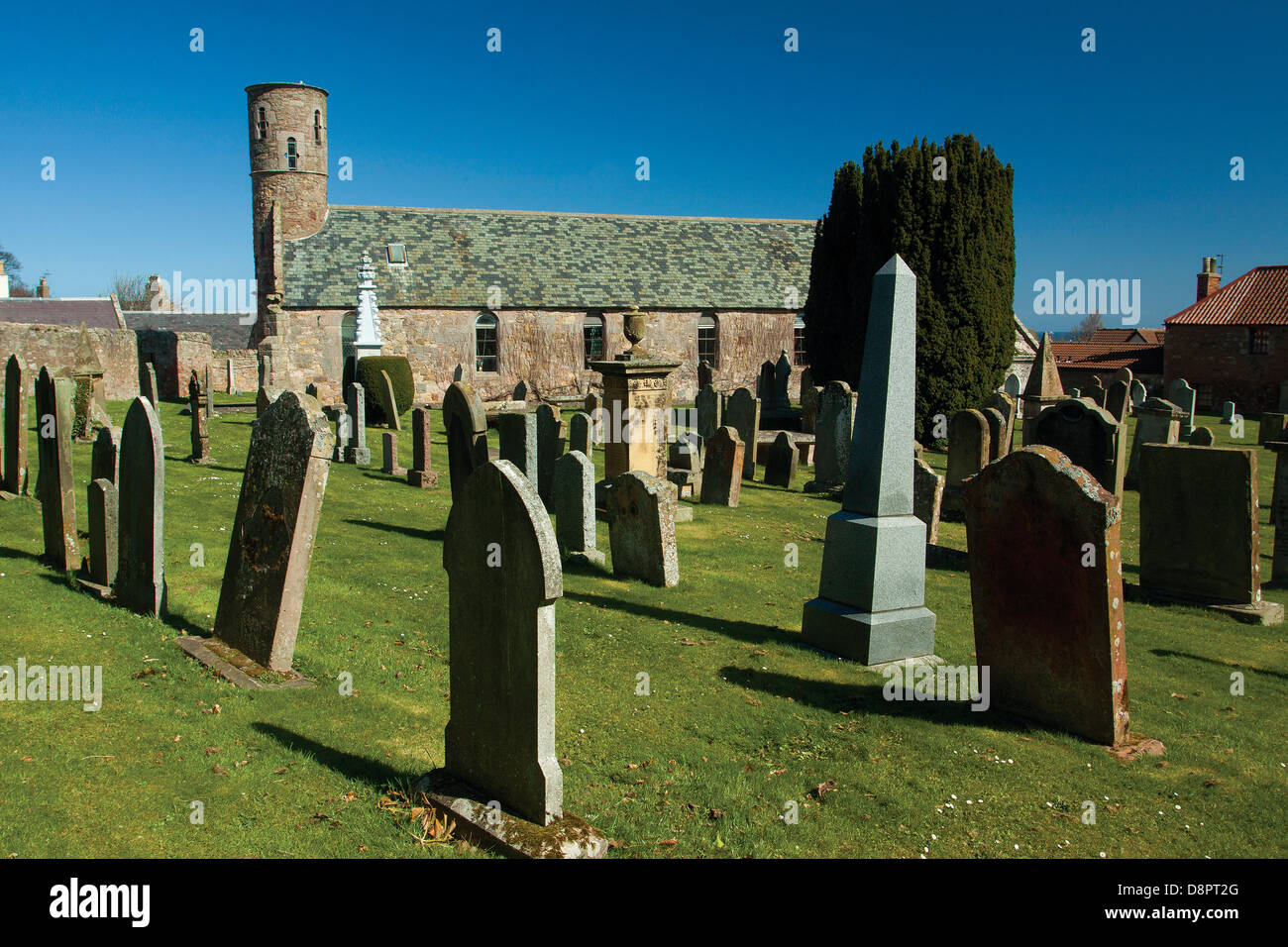 St Helen's Church, Cockburnspath, Scottish Borders - Stock Image