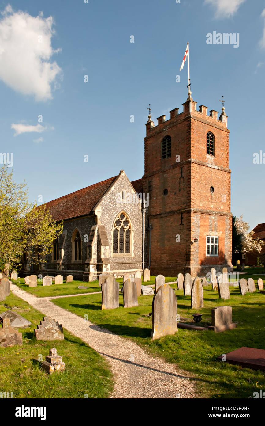 St James the Less Church in Pangbourne, Berkshire, UK Stock Photo