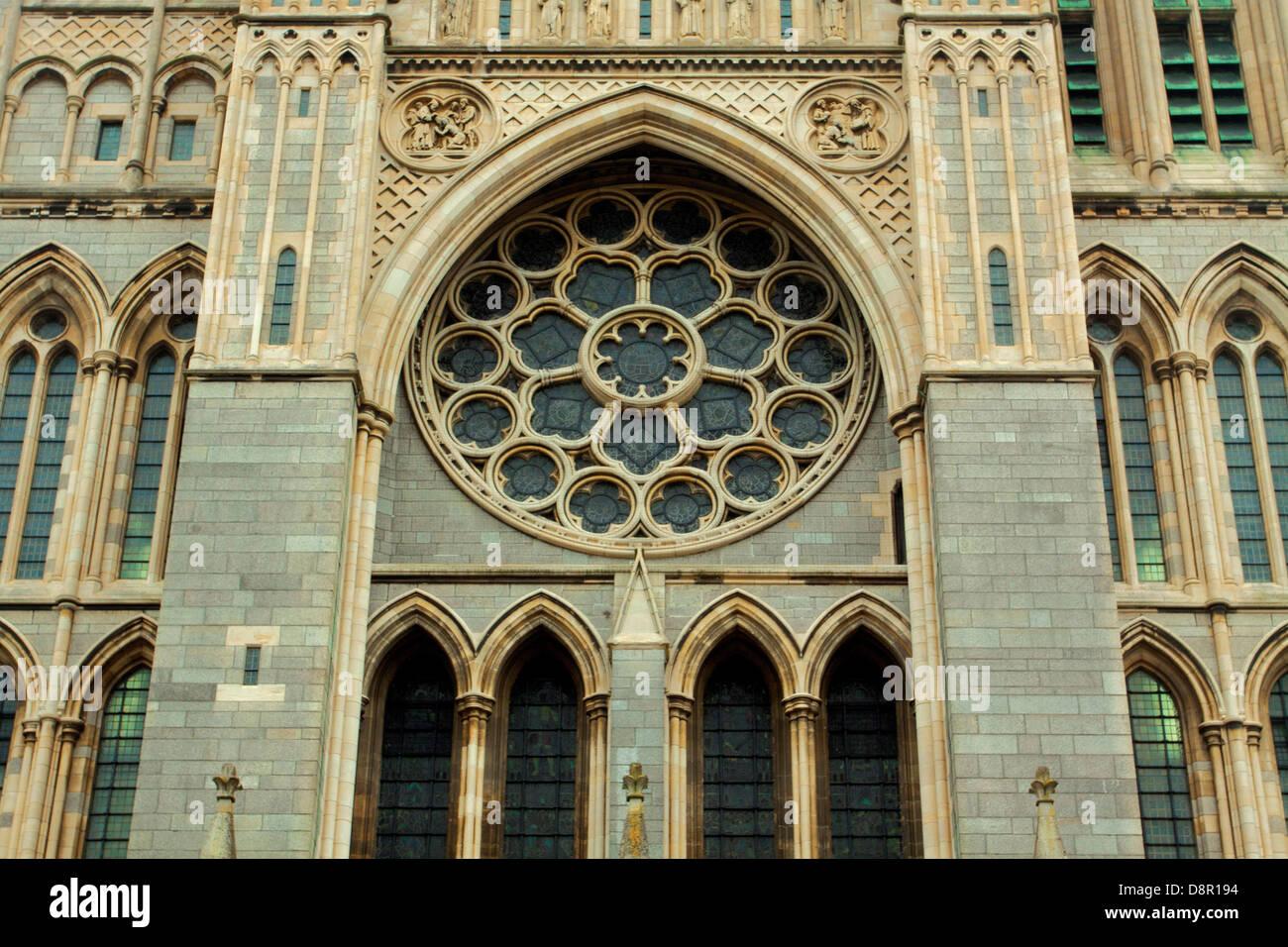Truro Cathedral, Truro, Cornwall - Stock Image