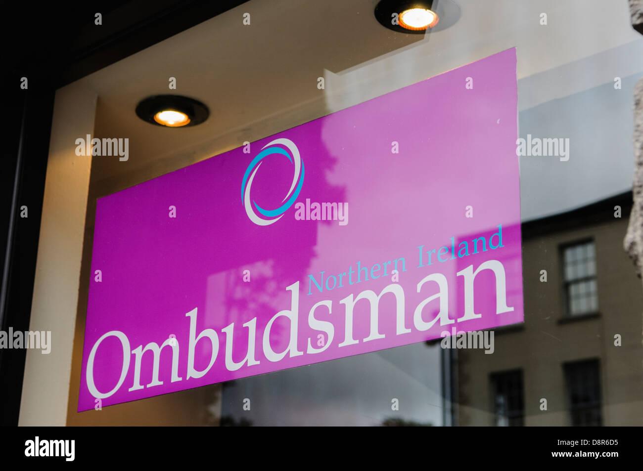 Northern Ireland Ombudsman. - Stock Image