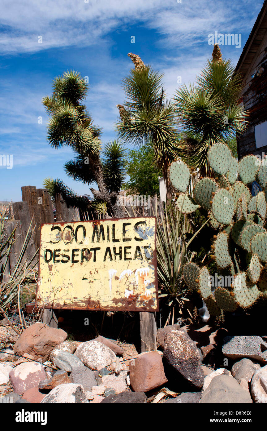 Hackberry General Store on Route 66 in Arizona, USA - Stock Image