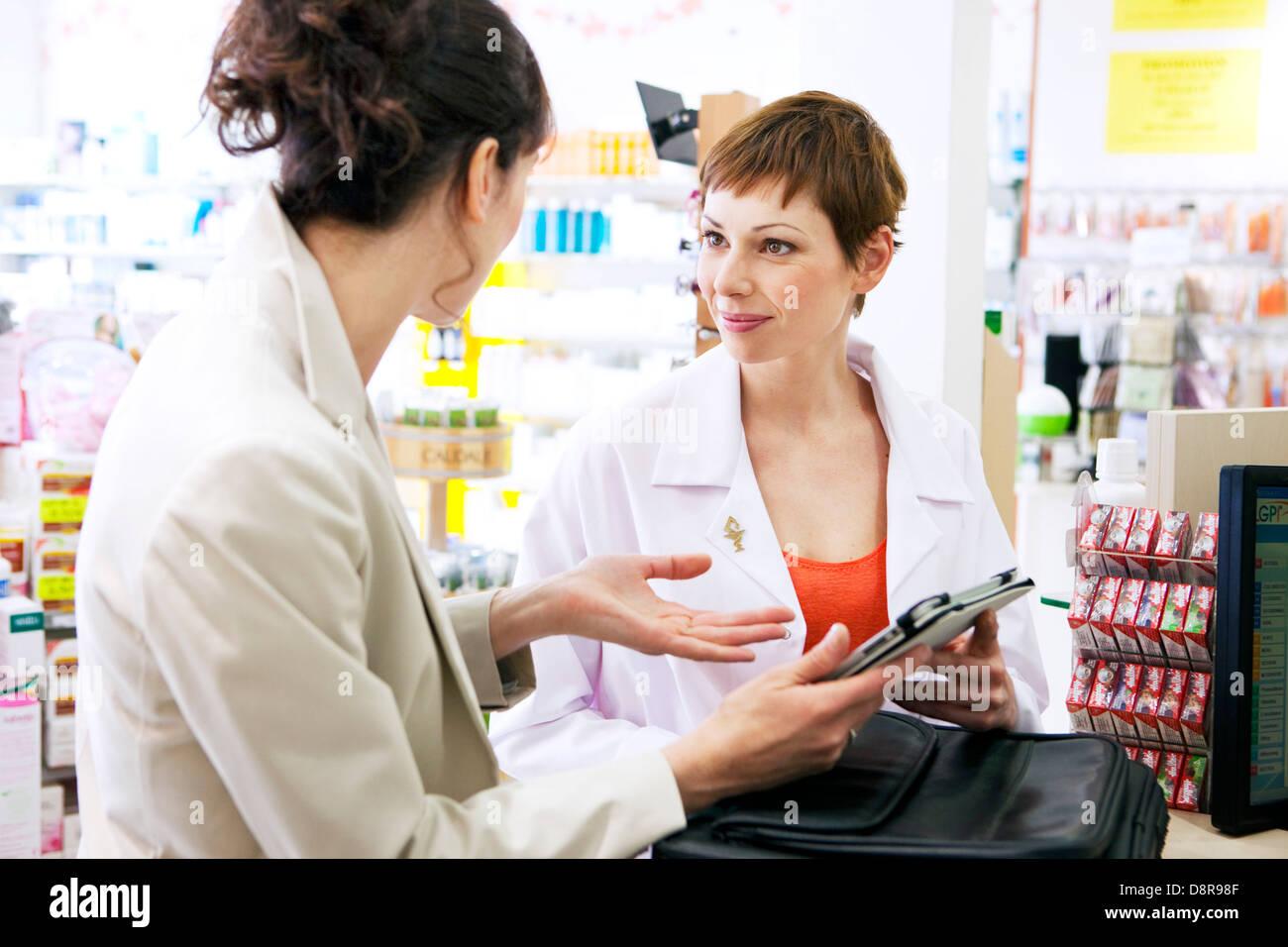 Pharmaceutical Sales Representative Stock Photo 57060543 Alamy