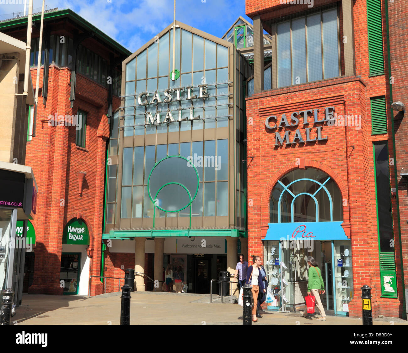 Castle Mall Shopping Centre, Norwich, England UK English centres malls - Stock Image