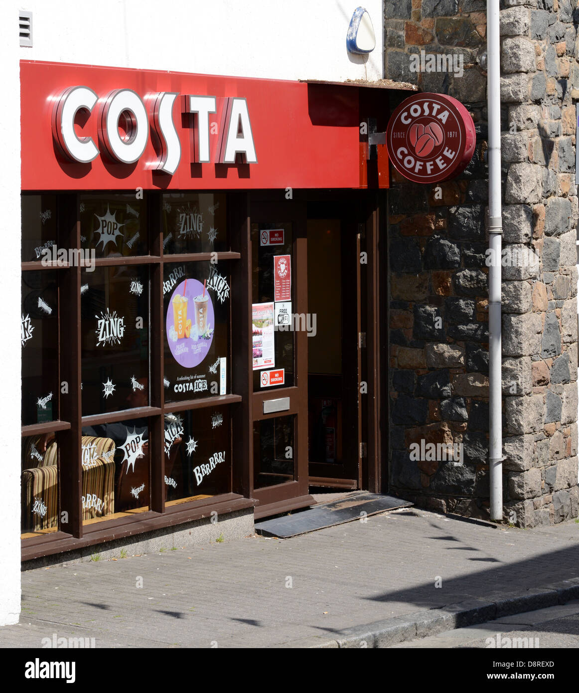 Costa Coffee Shop Exterior Stock Photos Costa Coffee Shop