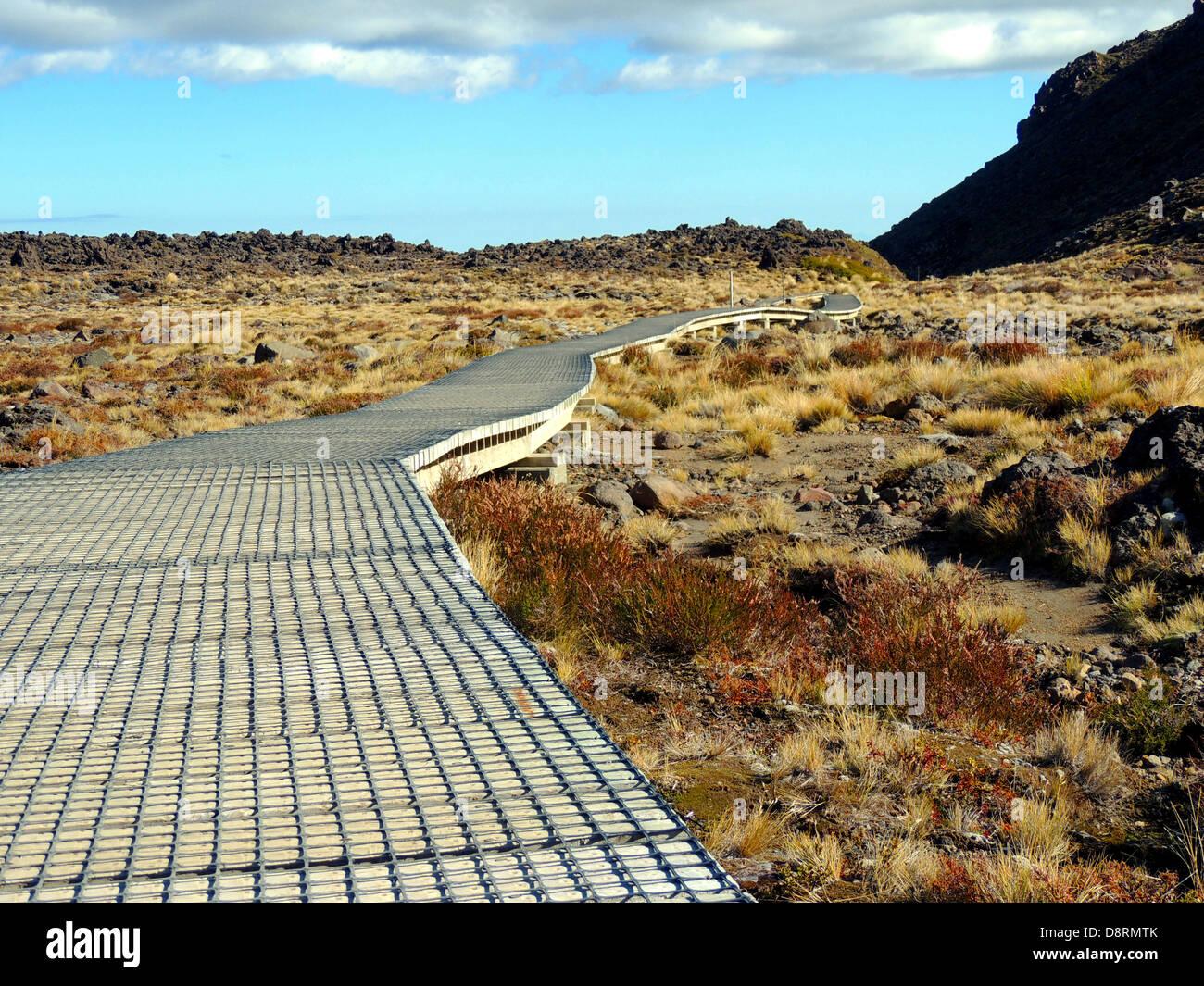 Tongariro National Park - Stock Image