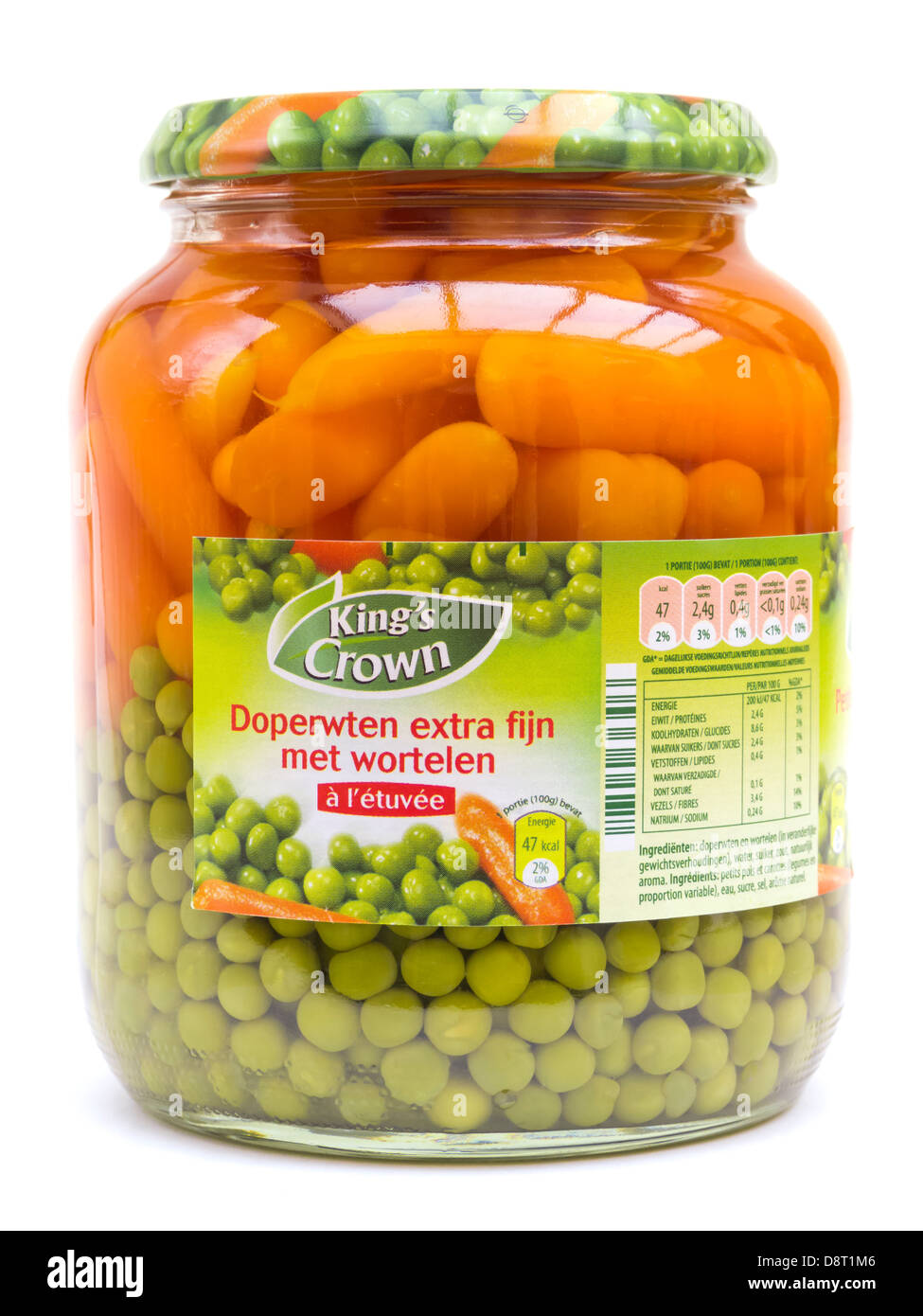 Kings Crown Canned Food - Stock Image