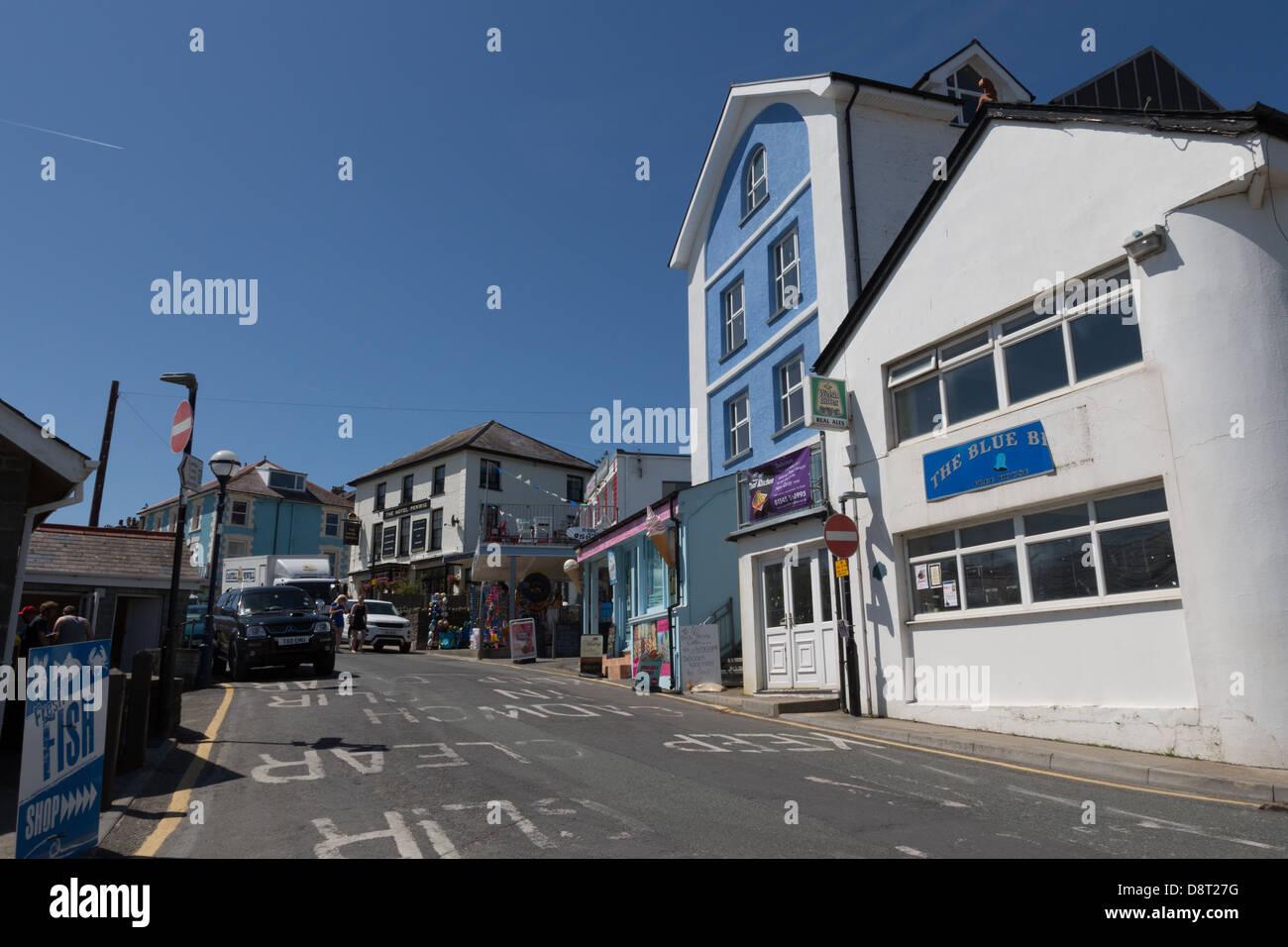 New Quay, Ceredigion, Wales - Stock Image