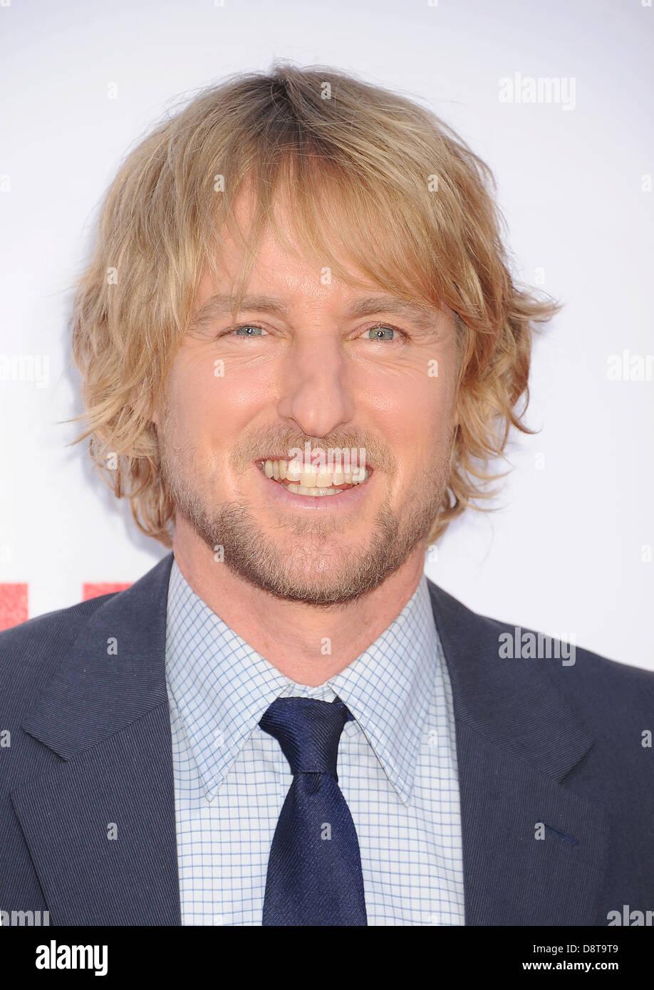 OWEN WILSON US film actor in June 2013. Photo Jeffrey Mayer - Stock Image