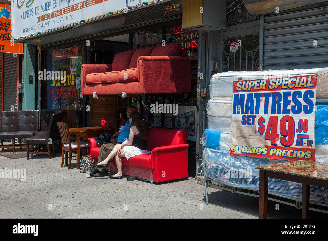 Graham Avenue Brooklyn Stock Photos Graham Avenue Brooklyn Stock