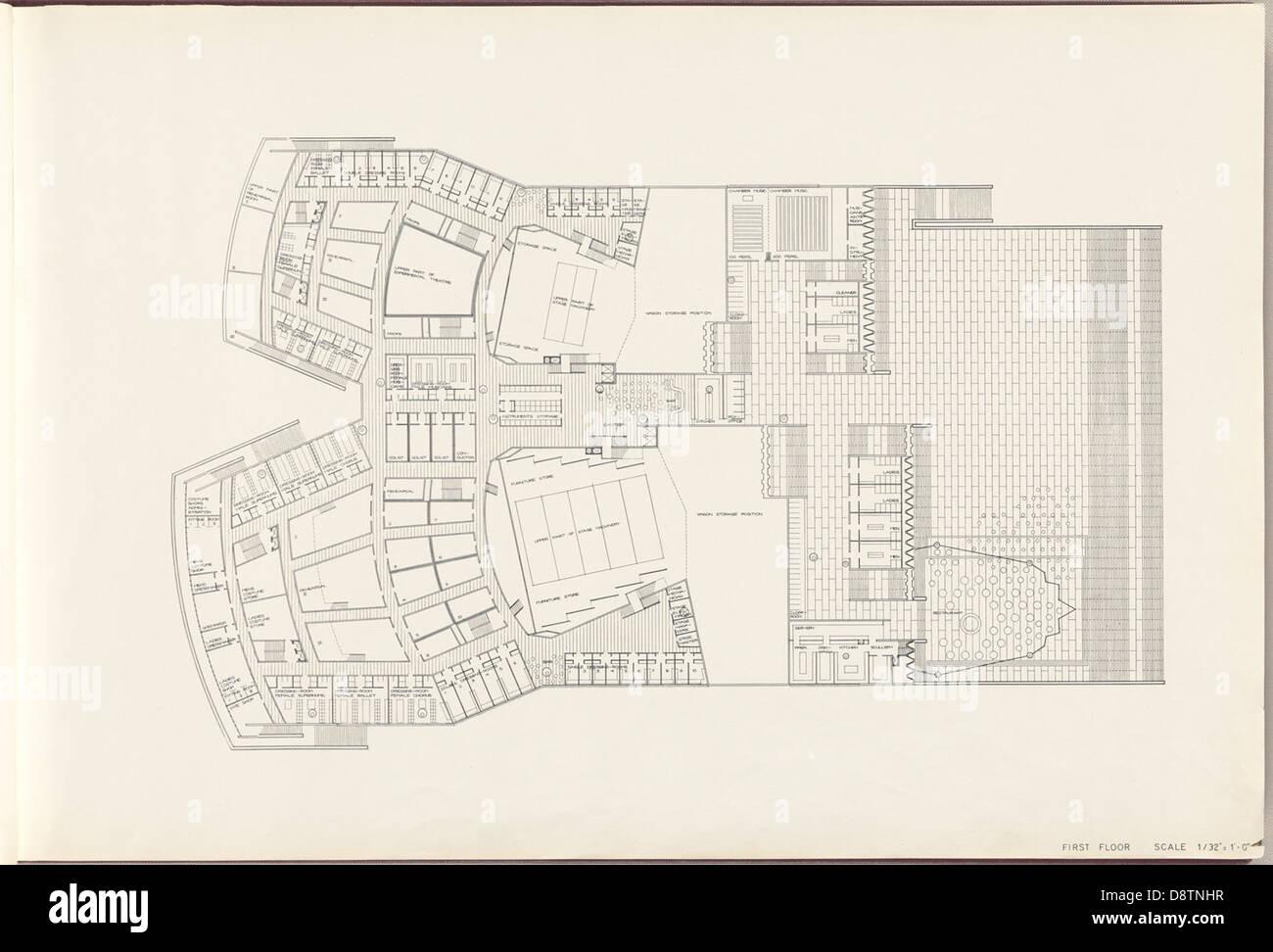 First floor plan sydney opera house stock photo 57092163 for Stock floor plans