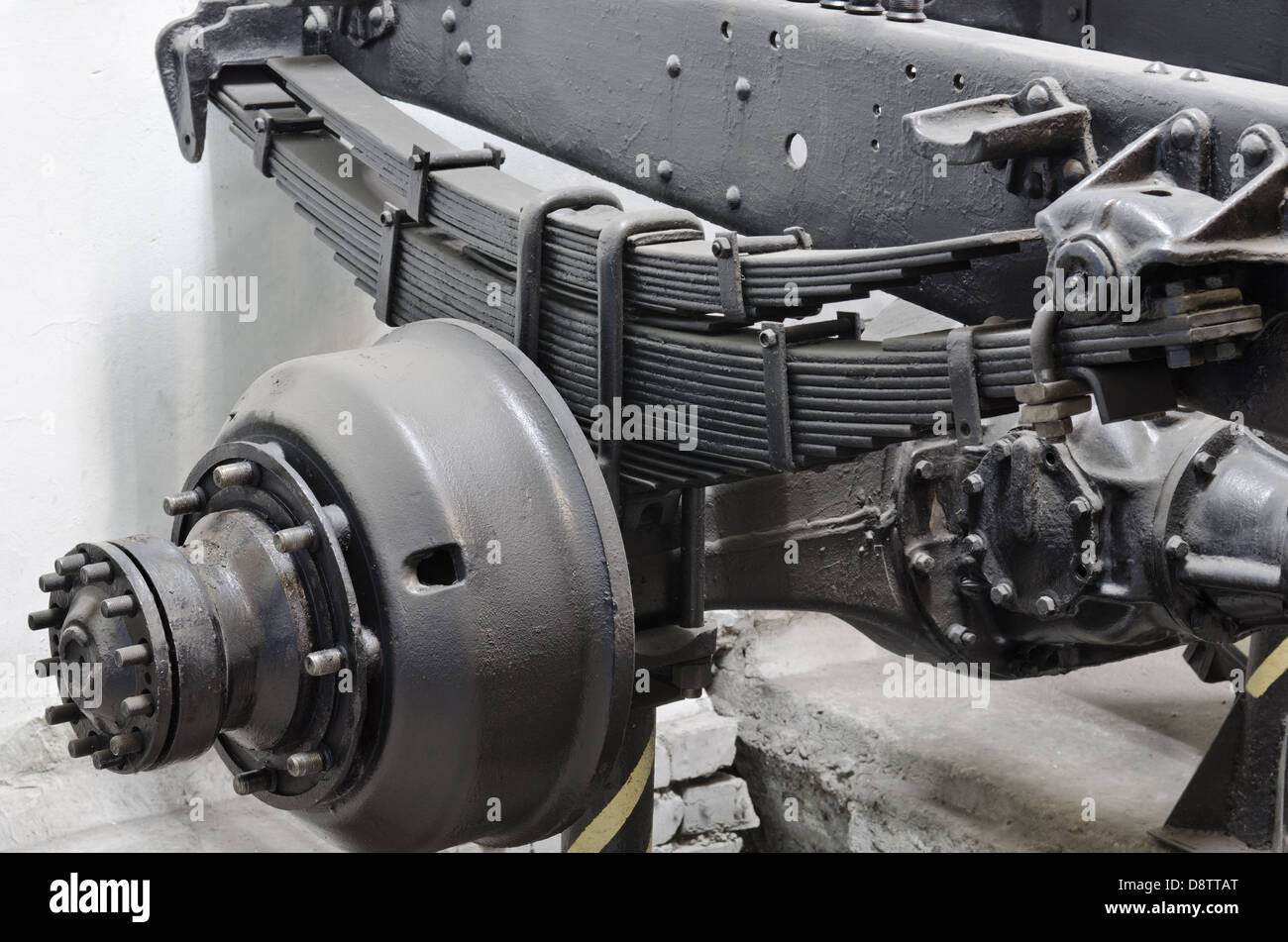 Car Suspension Broken Stock Photos Amp Car Suspension Broken