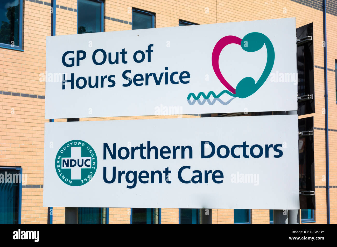 Norther Doctors Urgent Care GP out of hours service, Stockton on Tees, Cleveland, England, UK - Stock Image