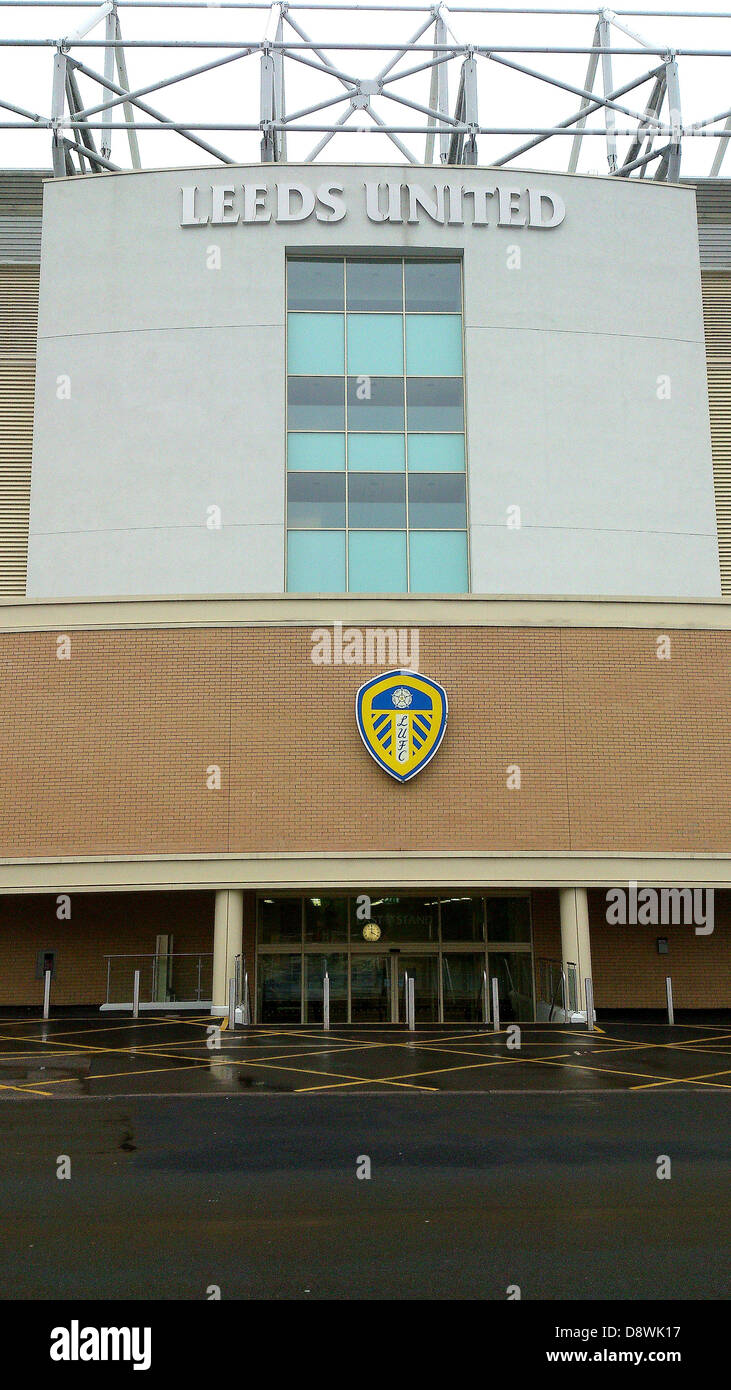 Leeds United Football Stadium Stock Photos Amp Leeds United