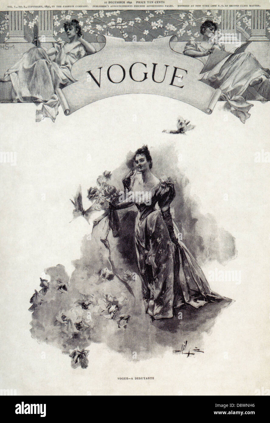 Vintage french vogue magazine covers