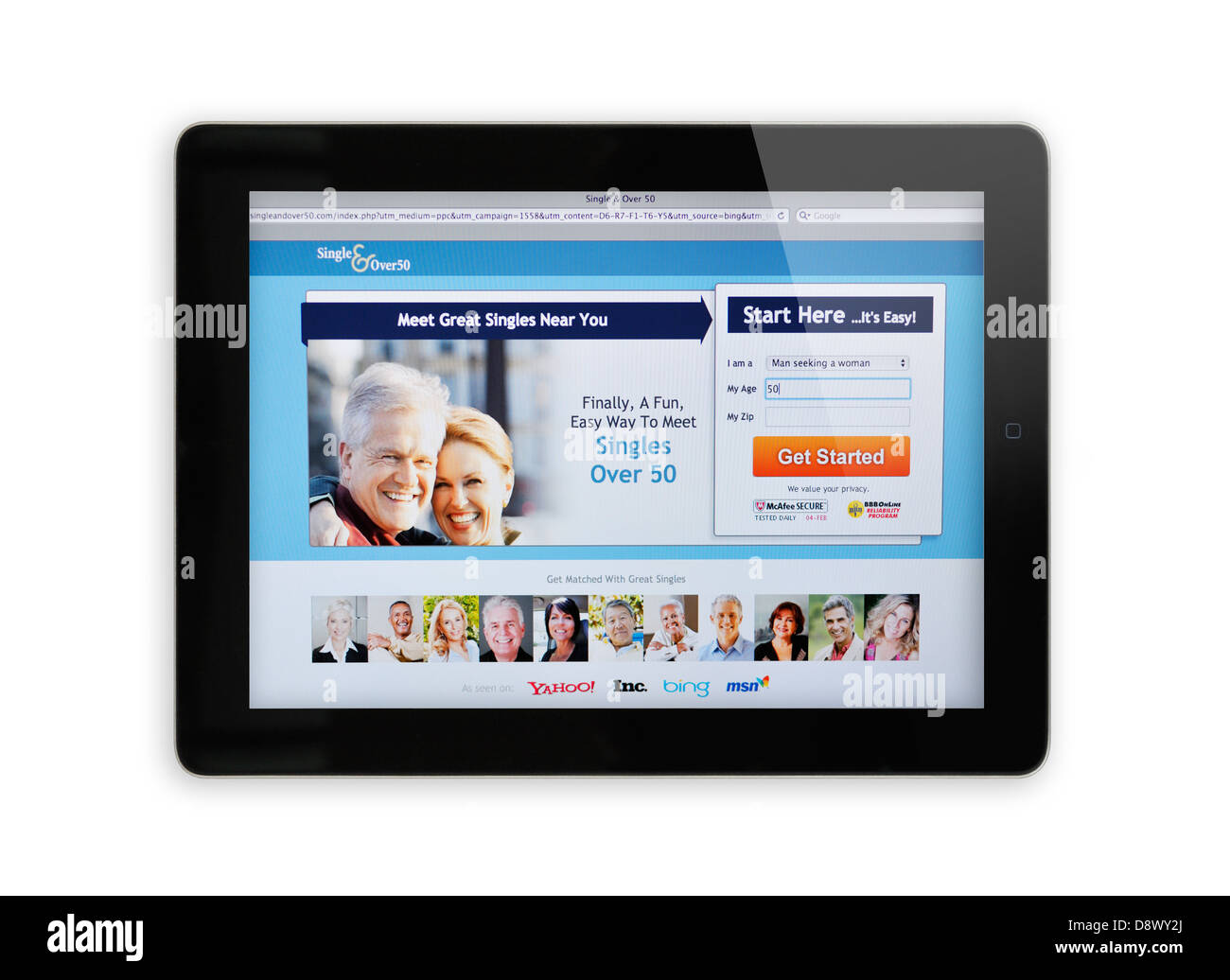 Seniors online dating websites