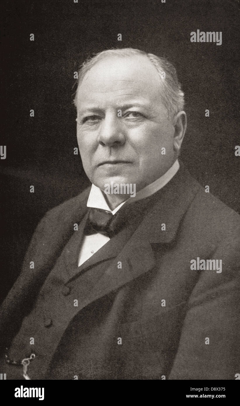 Richard Burdon Haldane, 1st Viscount Haldane, 1856 – 1928. British Liberal Imperialist, Labour politician, lawyer, Stock Photo