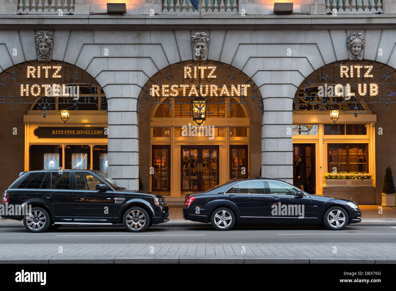 The Ritz on Piccadilly,London,England - Stock Image