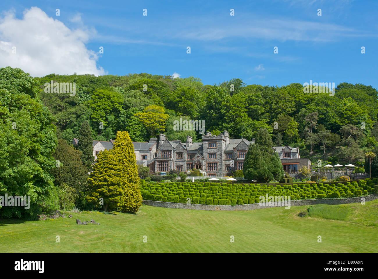 The Netherwood Hotel, Grange-over-Sands, Cumbria, England UK - Stock Image