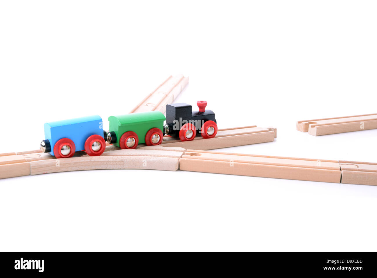 Concept of trouble ahead missing link - Stock Image