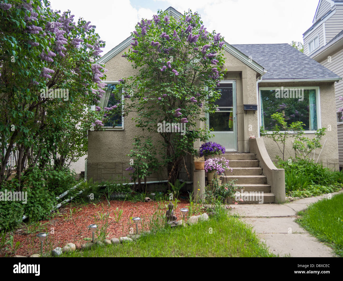 Cute Small Old House Stock Photo 57128916 Alamy