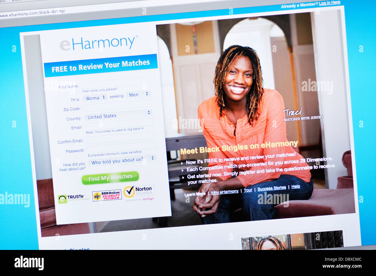 Harmony online dating site