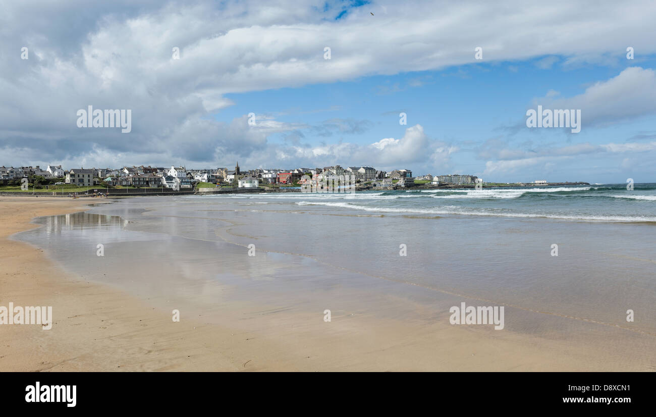The Coastline in Northern Ireland - Stock Image