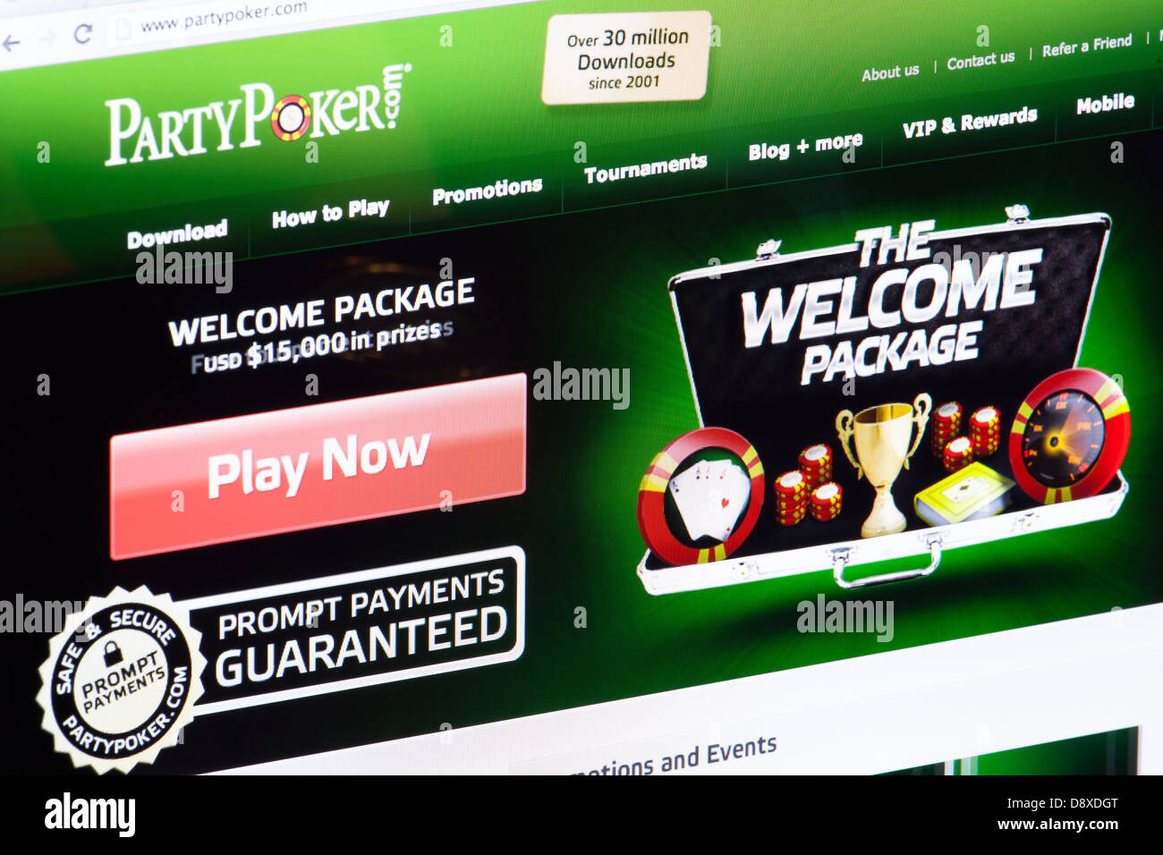 How can i contact party poker automatic poker chip counter