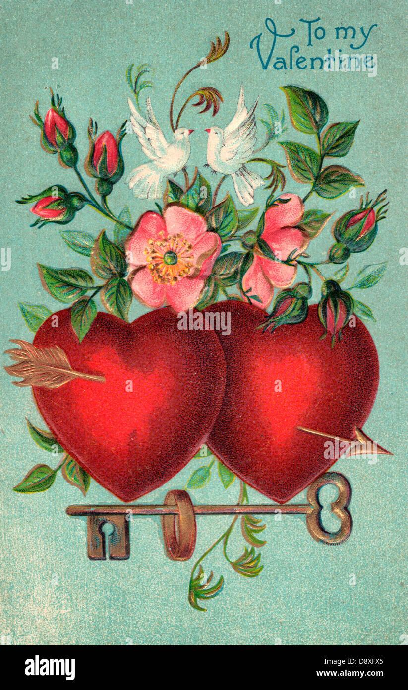 Телефон картинки, день открытки старые валентина
