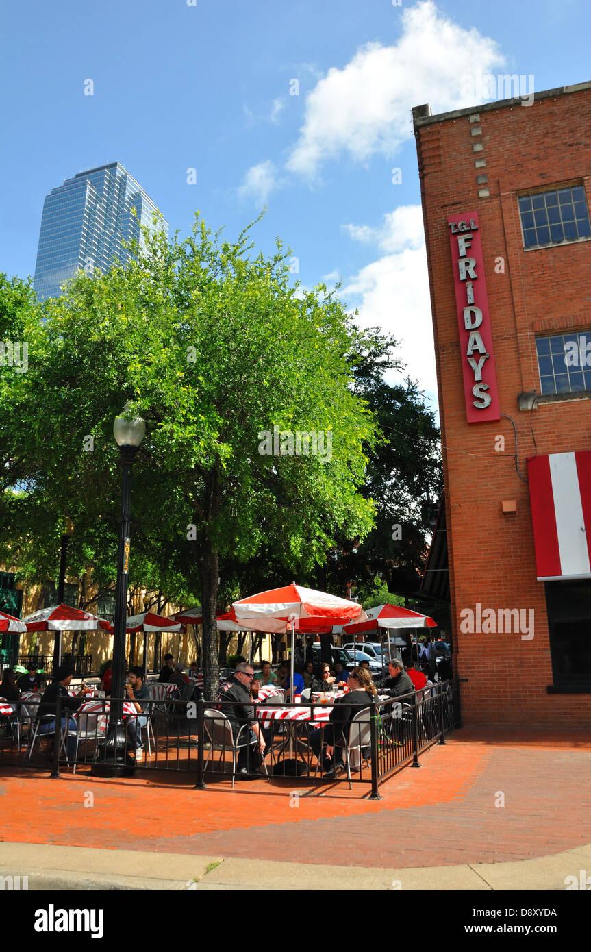 Tgi Fridays Restaurant At West End In Downtown Dallas Texas