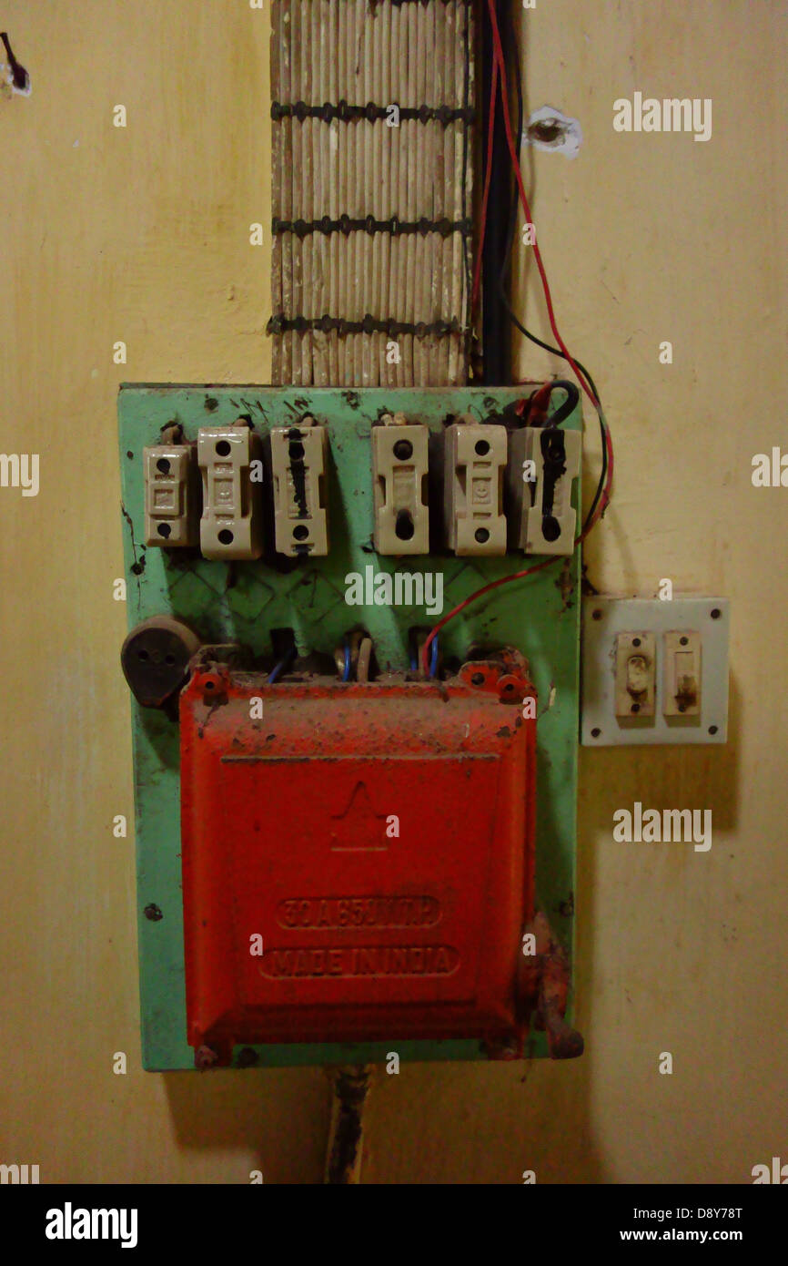 [QNCB_7524]  Fuse Box High Resolution Stock Photography and Images - Alamy | Red Fuse Box |  | Alamy