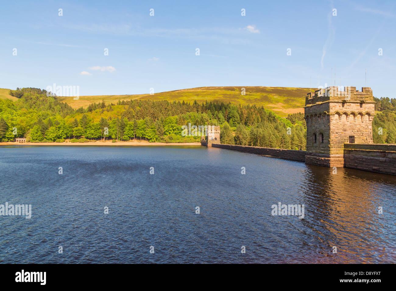 Derwent Dam, Peak District, Derbyshire, England, UK - Stock Image