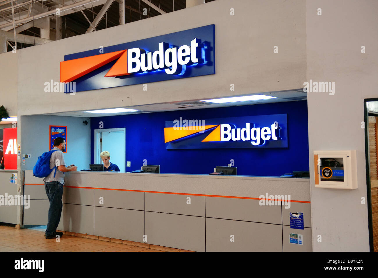 Car Rental Company Counter