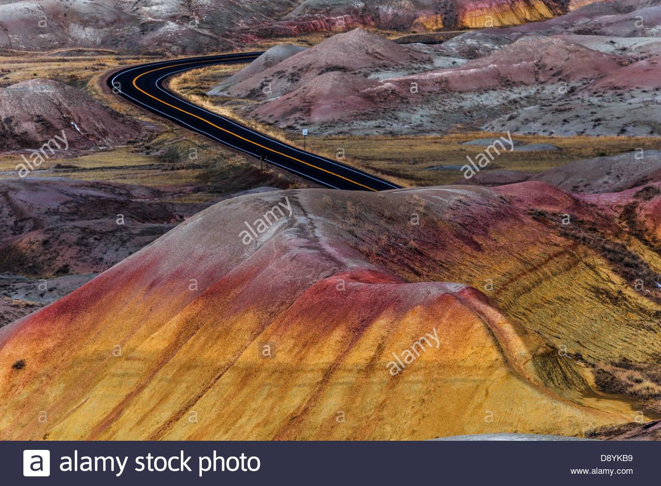 Badlands National Park, South Dakota, USA - Stock Image