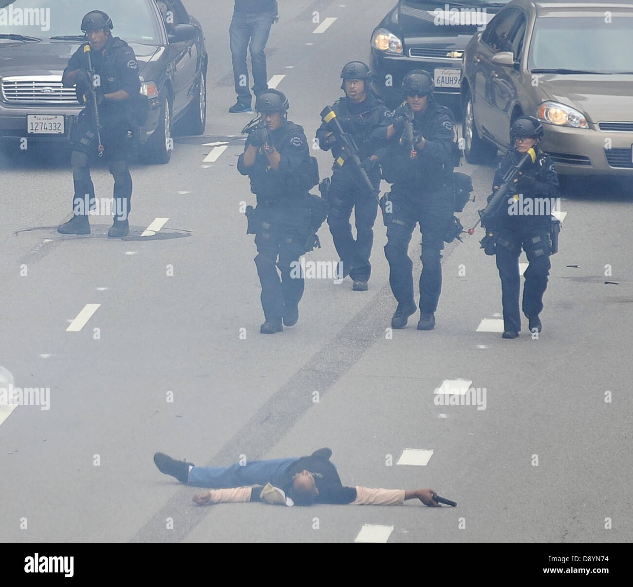 Los Angeles, California, USA  6th June 2013  The Los Angeles Police