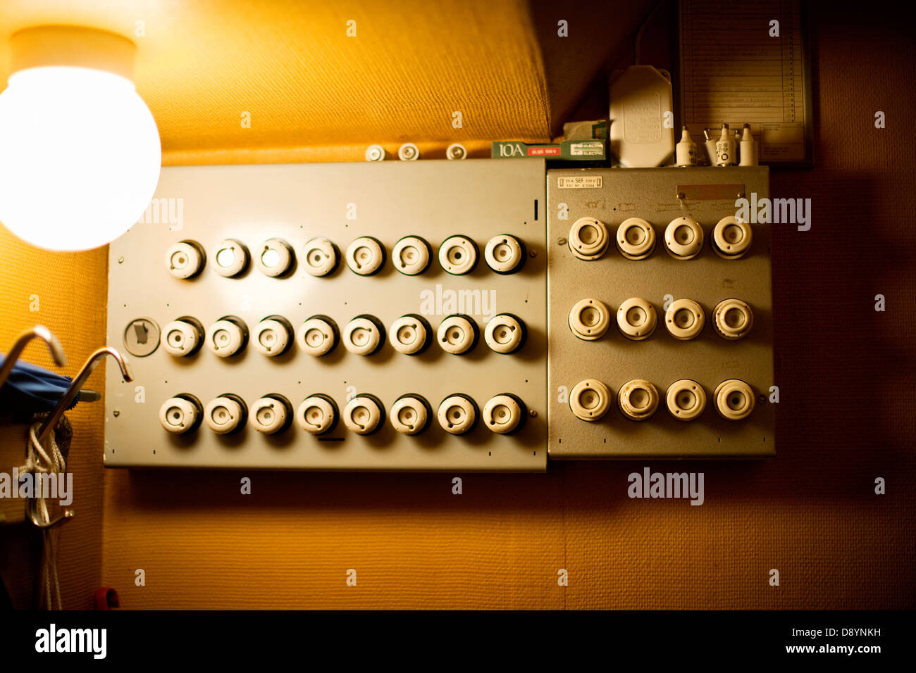 Domestic Fuse Box Stock Photos Images Alamy O Image