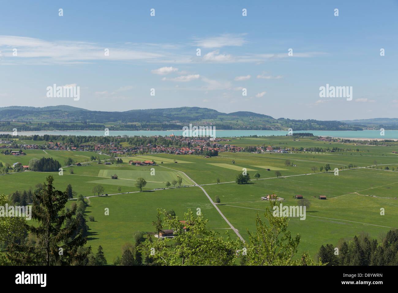 Schwangau landscape - Stock Image