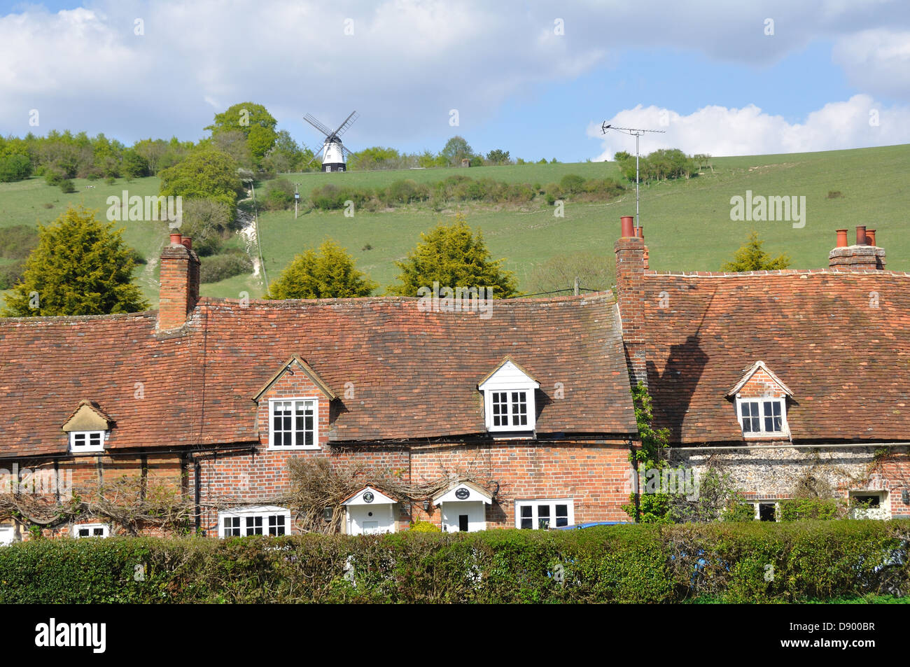 Turville Village, Buckinghamshire, U.K. - Stock Image