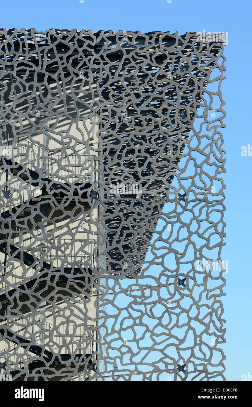 Lattice Sun Screen Amp Concrete Cladding Of The Mucem Museum
