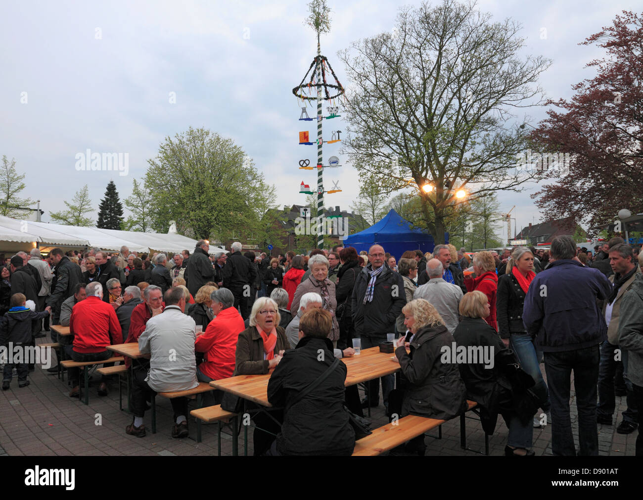 D-Oberhausen, D-Oberhausen-Sterkrade, Sterkrade-Schmachtendorf, Lower Rhine, Ruhr area, Rhineland, North Rhine-Westphalia, - Stock Image