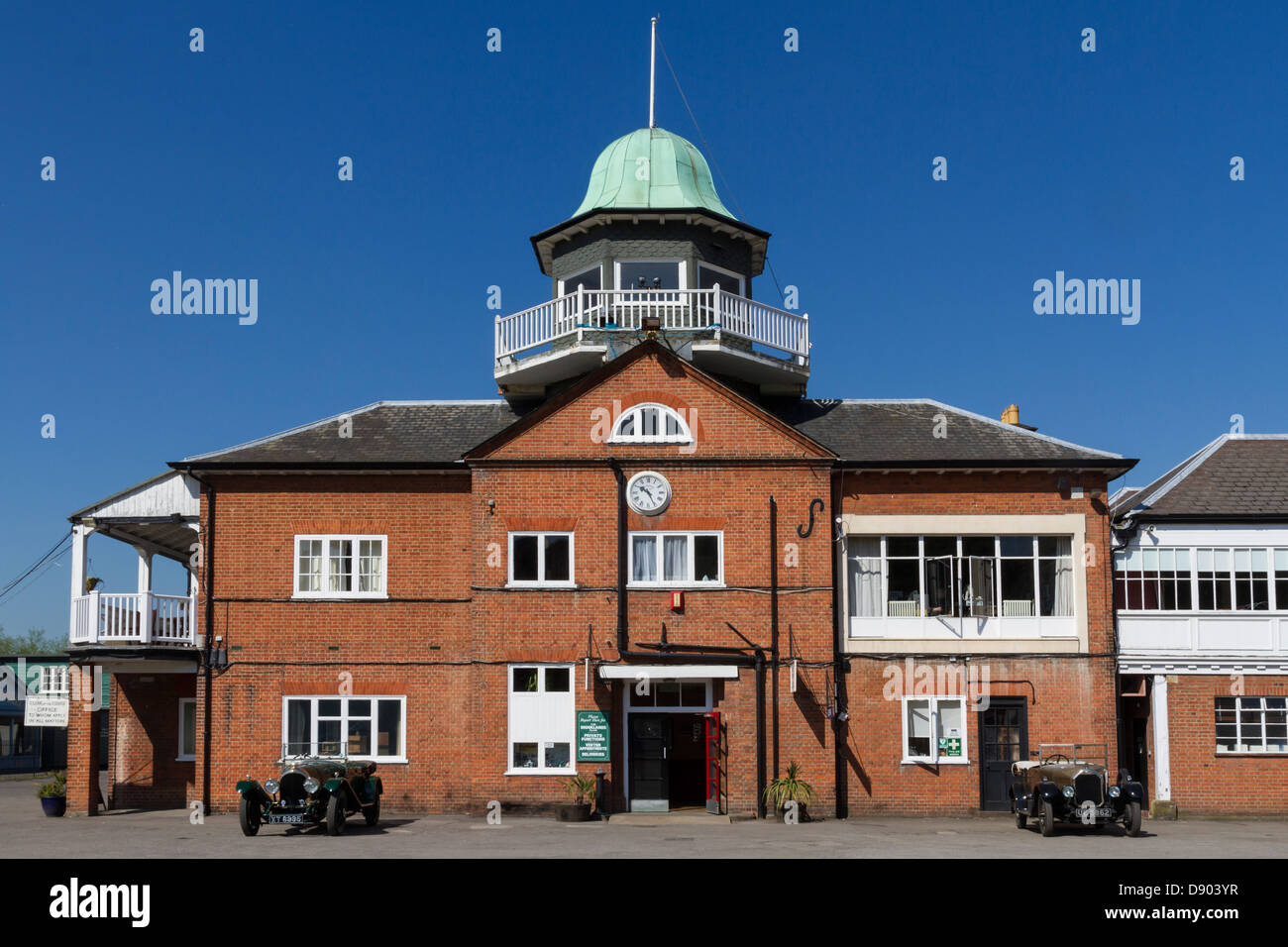 England Surrey Weybridge, Brooklands clubhouse Stock Photo