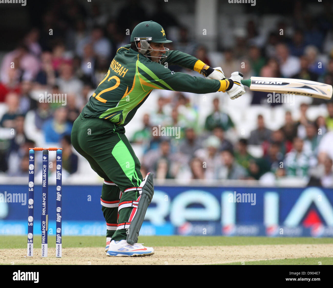7th June 2013 Misbah Ul Haq Of Pakistan During The ICC