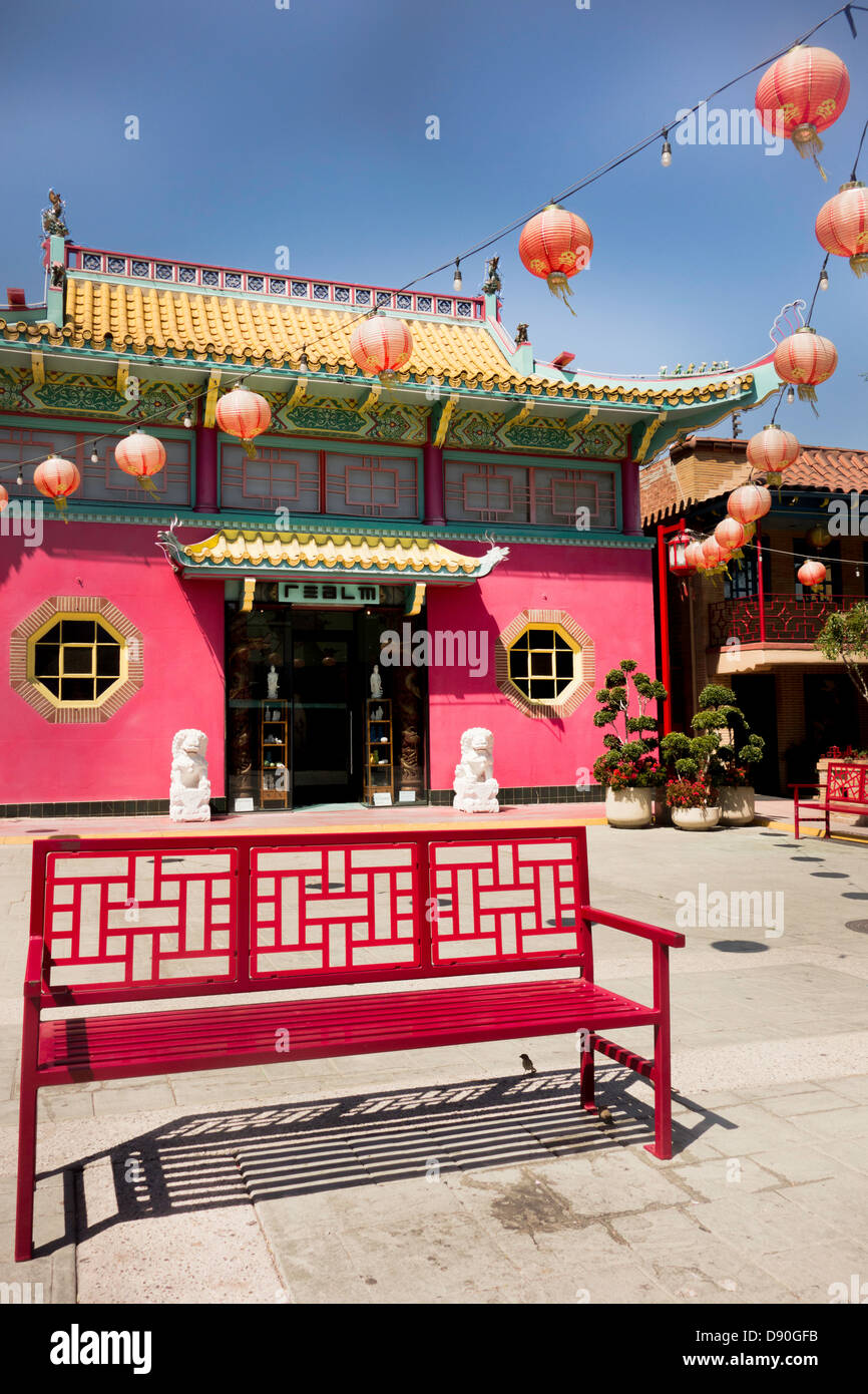 traditional chinese architecture in chinatown los angeles. Black Bedroom Furniture Sets. Home Design Ideas
