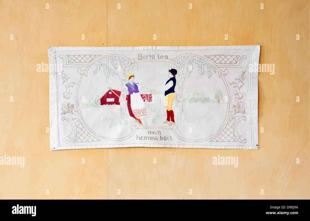 Embroidered Wall Hanging Stock Photos & Embroidered Wall Hanging ...