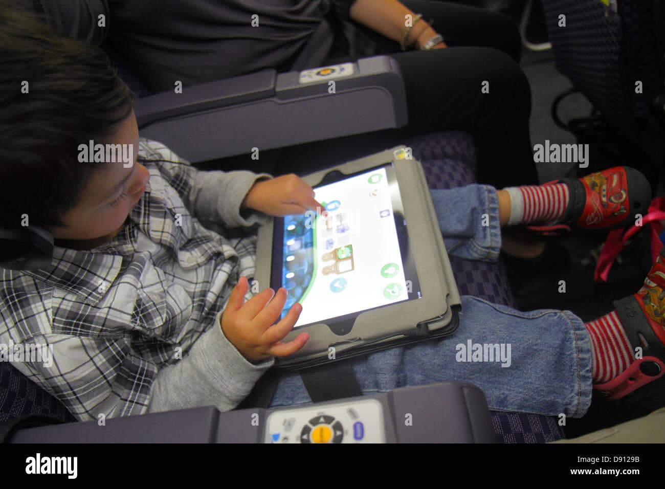 Miami Florida International Airport MIA onboard boarding