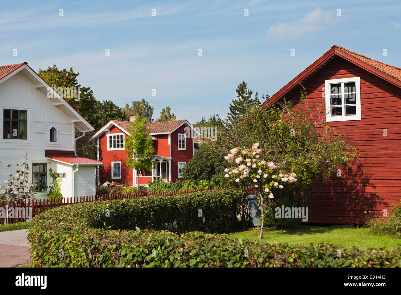 Houses at suburbs - Stock Image