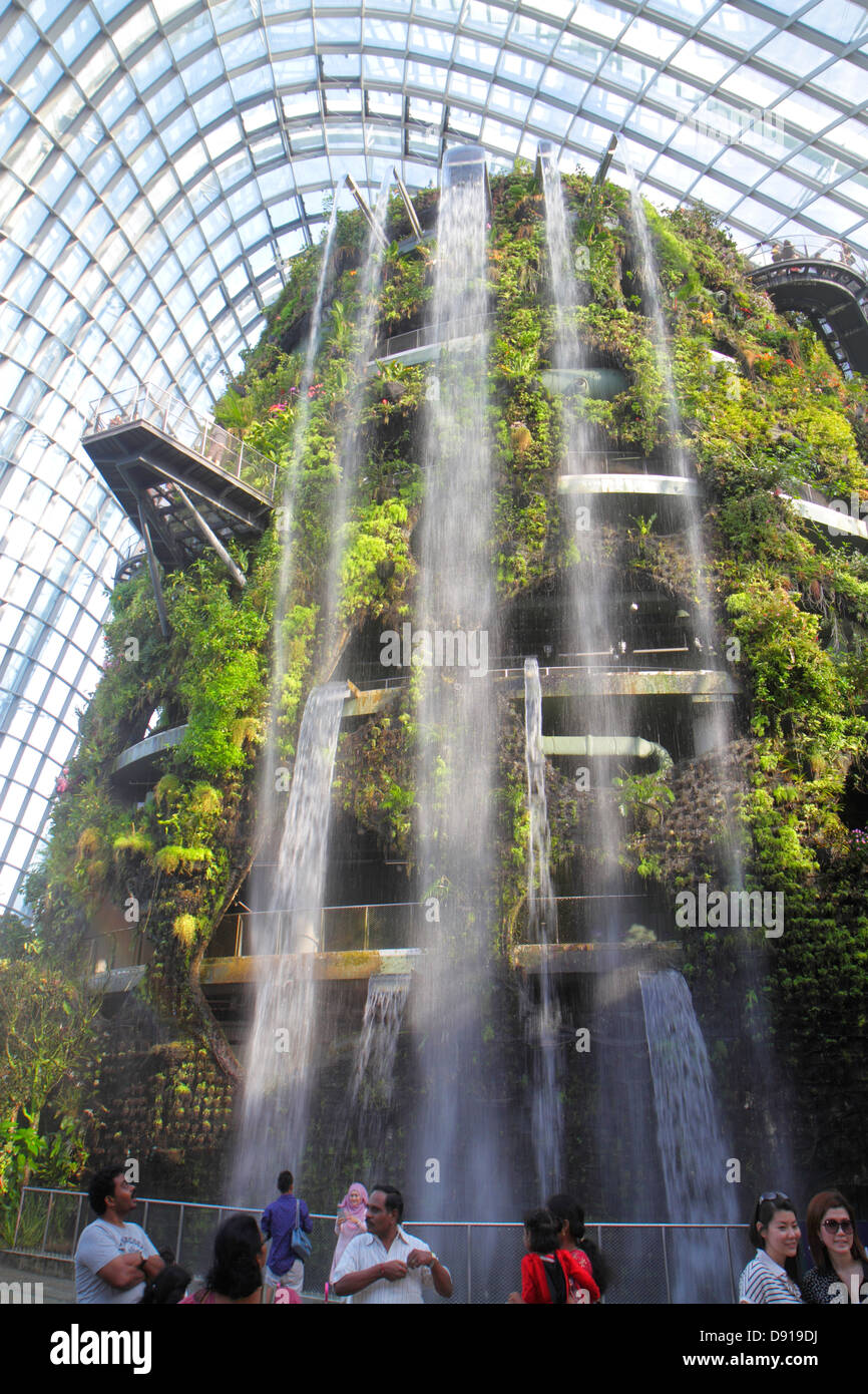 Gardens By The Bay Greenhouse Singapore Stock Photos