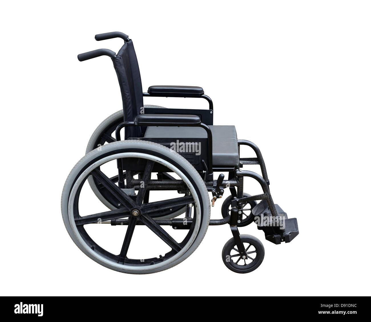 Wheelchair, Cut Out. - Stock Image