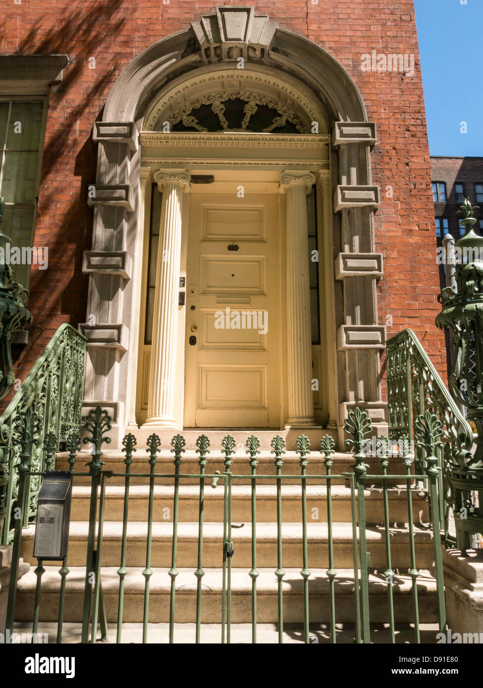 Old Merchant's House Museum, New York City, USA - Stock Image