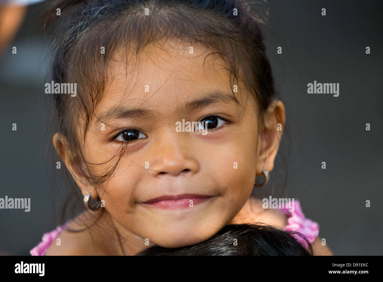 Young girl in manilla